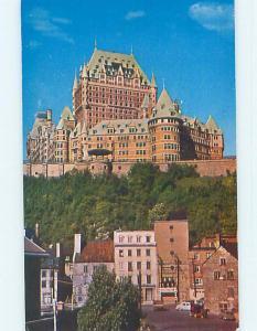 Unused Pre-1980 TOWN VIEW SCENE Quebec City QC p9060