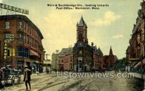 Main & Southbridge STs. - Worcester, Massachusetts MA