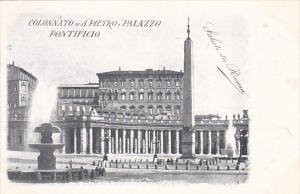 Italy Roma Rome Basilica San Pietro Colonnato