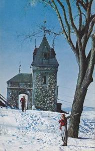 Skiers at Kent Gate, Quebec, Canada, 40-60´s