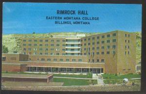 Rimrock Hall Eastern Montana College Billings Montana MT