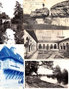 DORDOGNE Aquitaine (Dep 24) 161 Cartes Postales 1900-1940