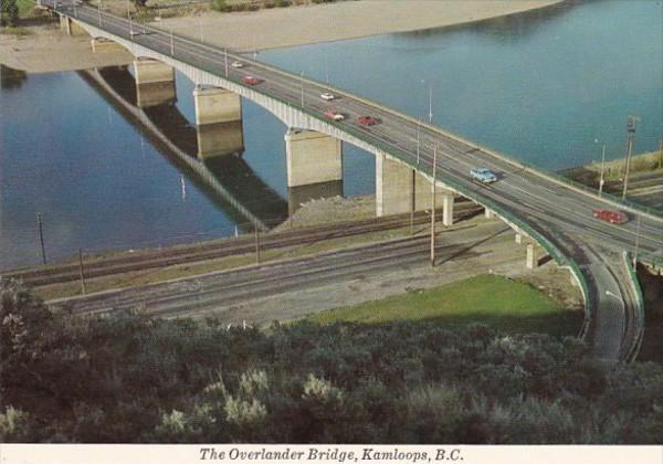 Canada British Columbia Kamloops The Overlander Bridge