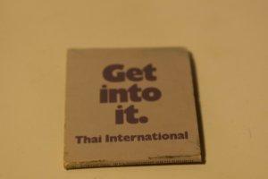 Hyatt Rama Bangkok 30 Strike Matchbook