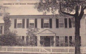 Residence Of Otis Skinner Woodstock Vermont