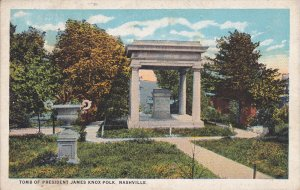 NASHVILLE, Tennessee; Tomb of President James Knox Polk, 10-20s