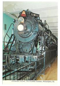 Baldwin Locomotive 60,000 Franklin Institue Phila PA Train