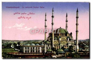 Old Postcard Constantinople The Sultan Selim Mosque Turkey