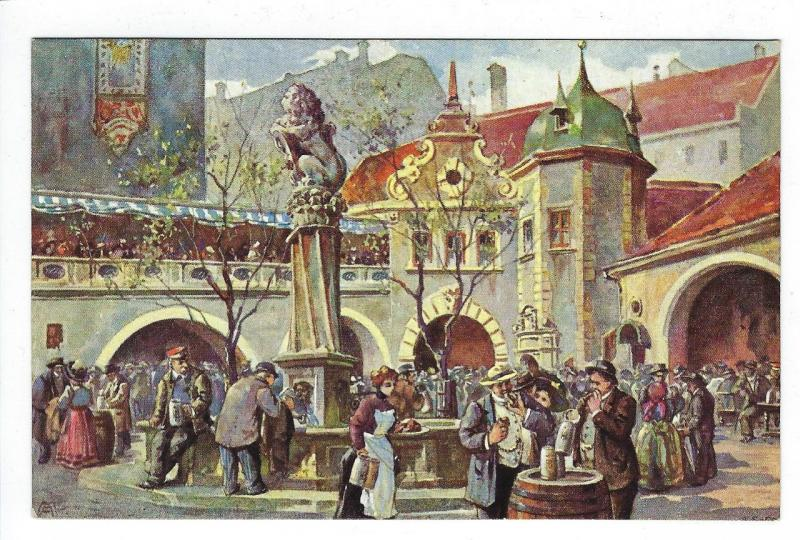 Early Germany Picture Postcard - Hofbrauhaus, Munich (M65)