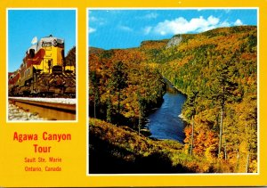 Canada Ontario Sault Ste Marie Agawa Canyon Tour Old Fashioned Train Ride 1988