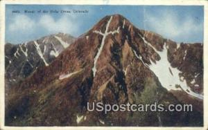 Mount of the Holy Cross, CO Postcard       ;       Mount of the Holy Cross, C...