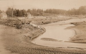 RP: MORRISVILLE , Vermont , 1927 ; Flood Scene