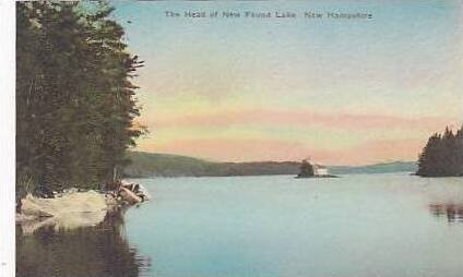 New Hampshire The Head of New Found Lake Albertype