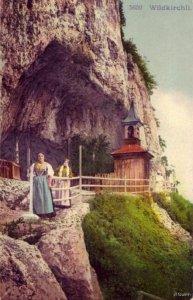 SWITZERLAND THE CAVES OF WILDKIRCHLI