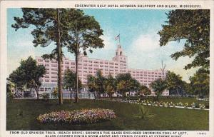 Mississippi Biloxi Edgewater Gulf Hotel Between Gulfport And Biloxi