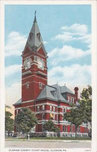 Clarion County Court House, CLARION, Pennsylvania, 30-40's