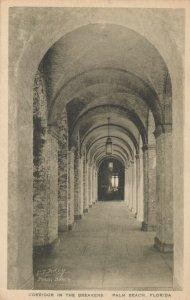 PALM BEACH , Florida, 1910s ; The Breakers, Corridor