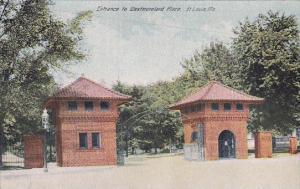 Entrance To Westmoreland Place Saint Louis Missouri