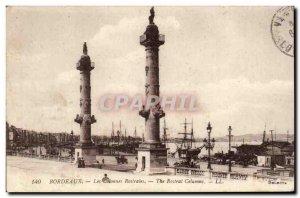 Bordeaux Old Postcard The rostral columns