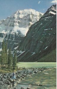 Mount Edith Cavell, Jasper Valley, Jasper, Alberta, Canada, 40´s-60´s