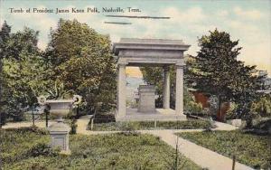 Tennessee Nashville Tomb Of President James Knox Polk 1910