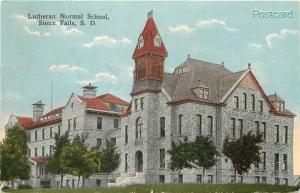 SD, Sioux Falls, South Dakota, Lutheran Normal School, E.C. Kropp No. 11640
