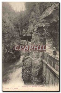 Postcard Old Tunnels The Great Narrow