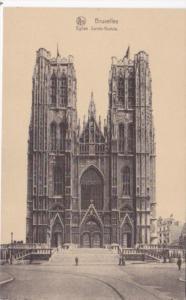 Belgium Bruxelles Eglise Sainte-Gudule