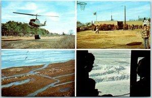 Vintage SMITH ISLAND, Maryland Military Postcard The Deep Freeze c1960s Unused