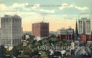 Grand Circus Park Detroit MI Unused