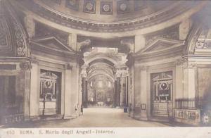 RP: Roma , Italy , 00-10s ; S. Maria degli Angeli-Interno [N.P.G.]