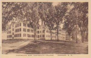 New Hampshire Hanover Dartmouth Row Dartmouth College Albertype