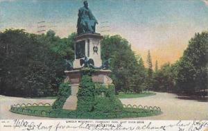 Pennsylvania Philadelphia Lincoln Monument Fairmount Park East River Drive 19...