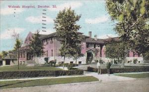 Illinois Decatur Wabash Hospital 1945