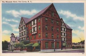 New York Port Jervis The Minisink Hotel 1968