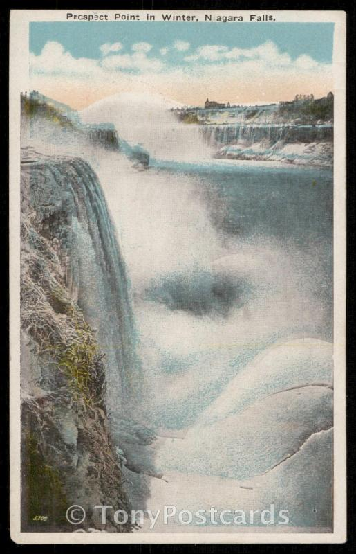Prospect Point in Winter, Niagara Falls