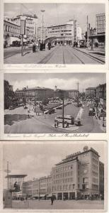 Germany Hannover 1950s Europahaus am Kropcke Ernst August Platz Train Station