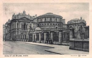 Science and Art Museum, Dublin, Ireland, Early Postcard, Unused