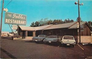 Marshall Texas~Gables Restaurant & Dining Room~Nice 1960s Cars~El Camino