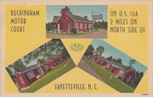North Carolina Fayettevile Buckingham Motor Court