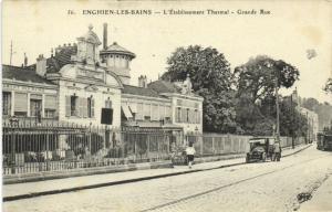 CPA Enghien-les-Bains - L'Etablissement Thermal (107236)