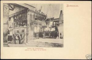 israel palestine, BETHLEHEM, Church of Nativity (1899)