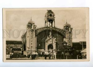 235751 CZECH PRAHA industrial palace Vintage photo postcard