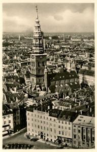 Denmark - Copenhagen. St Nicholas Church    *RPPC