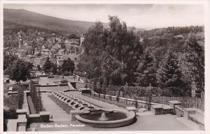 RP: BADEN-BADEN , Germany , 40-50s Paradies