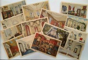 International Eastern Star Temple Vintage Set lot 14 postcards Washington D.C.