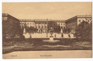 Berlin, Kgl. Uuniversitat