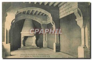 Postcard Abbey of Solesmes Sarthe Benediotins