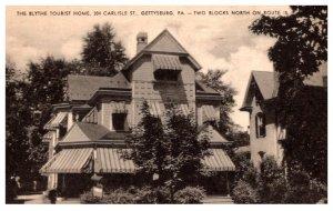 Pennsylvania  Gettysburg , The Blythe Tourist Home, Hotel