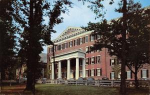 Winston-Salem North Carolina~Salem College~Main Hall~1940-50s Cars~1957 PC